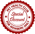 Join our Pet Health Club and Save Money and Spread the cost of your vet bills