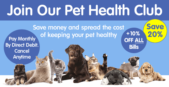 Join our Pet Health Club image